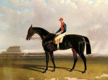 Lord Chesterfield's Industry with William Scott up at Epsom